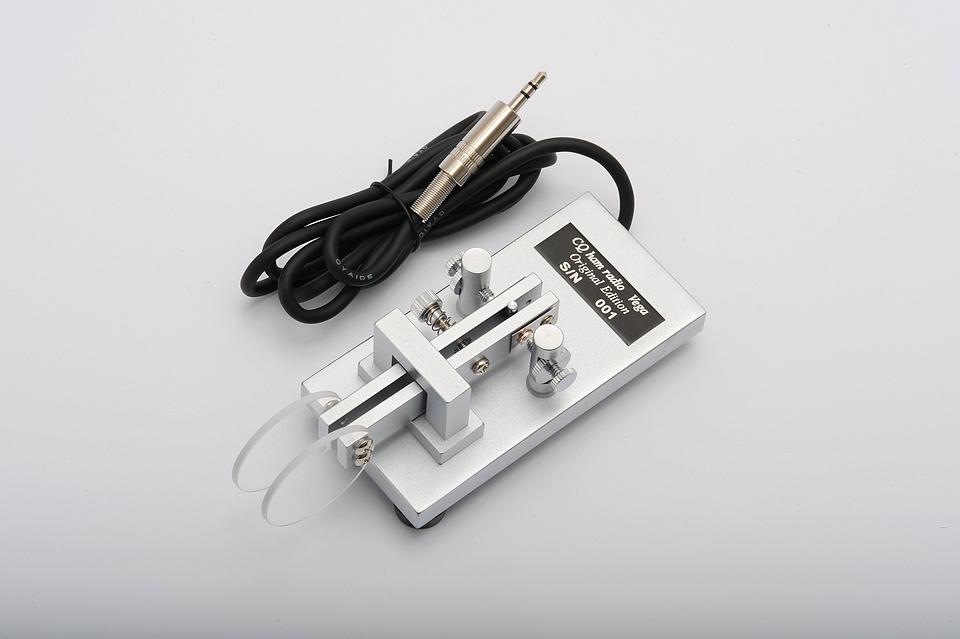 モールス通信用小型電鍵 Vega(ベガ)