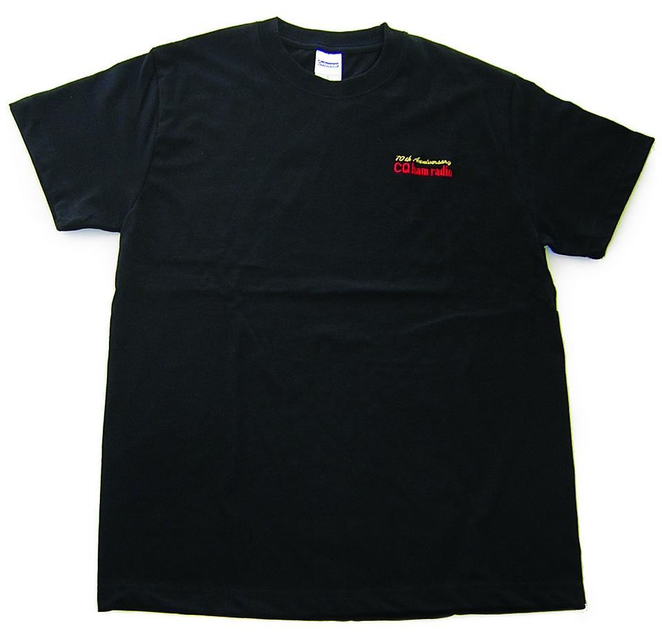 CQ ham radio70周年記念Tシャツ