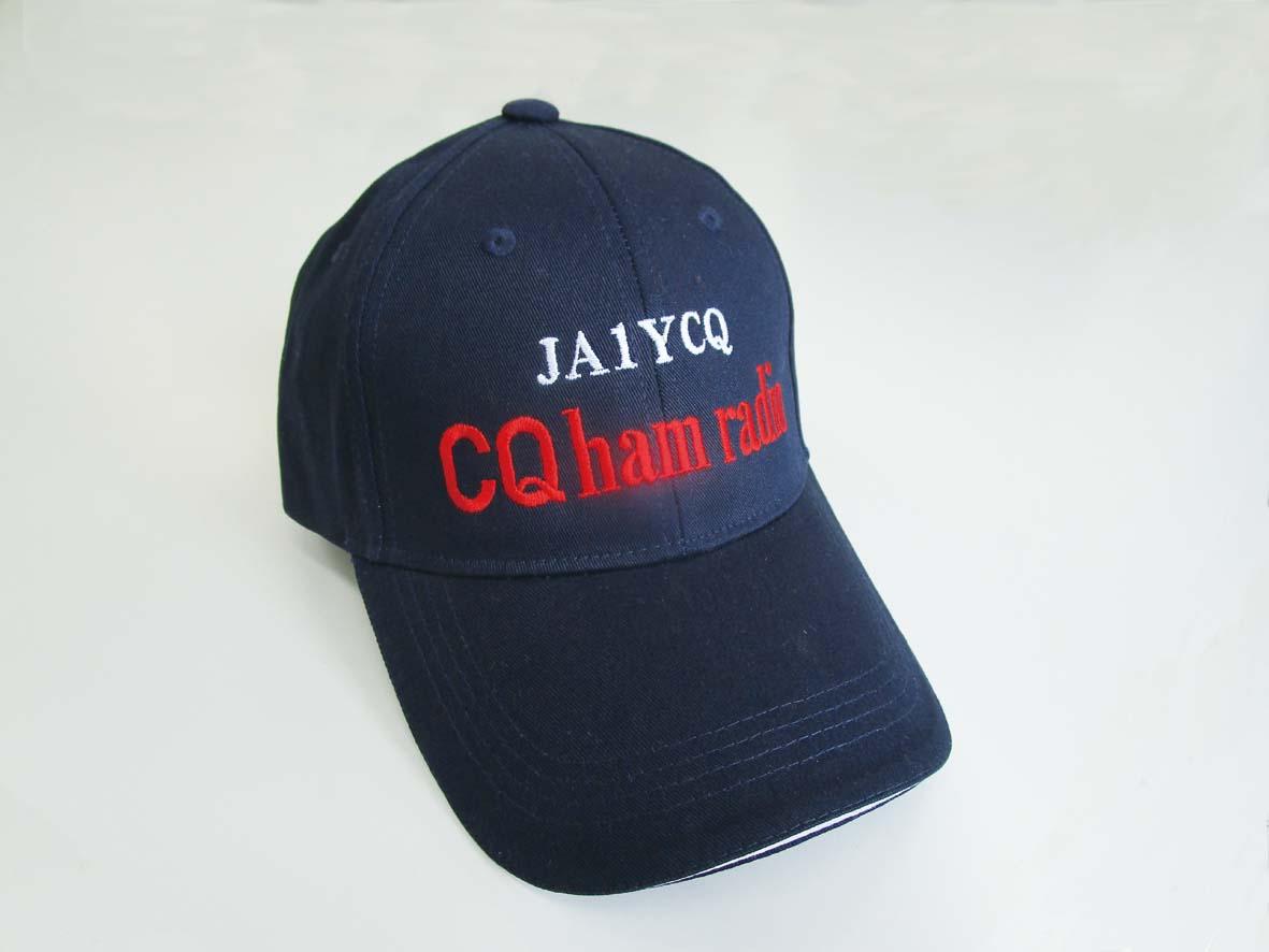 【予約販売】CQ ham radio オリジナル・キャップ