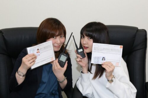 電波を初送信! 無線女子のオペレート勉強会