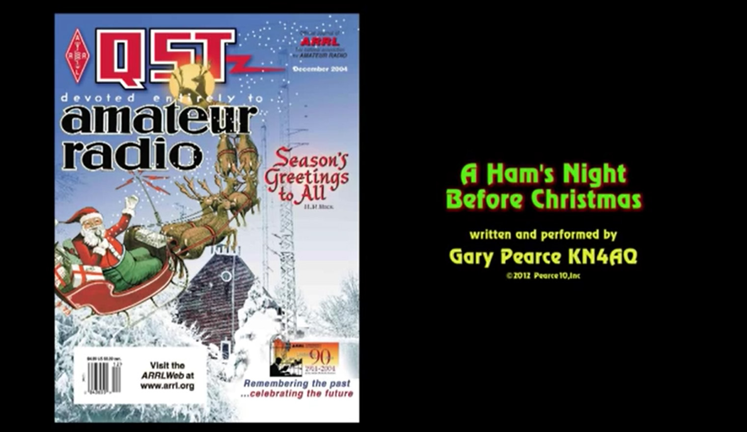 今月のYouTube「クリスマスの夜に」