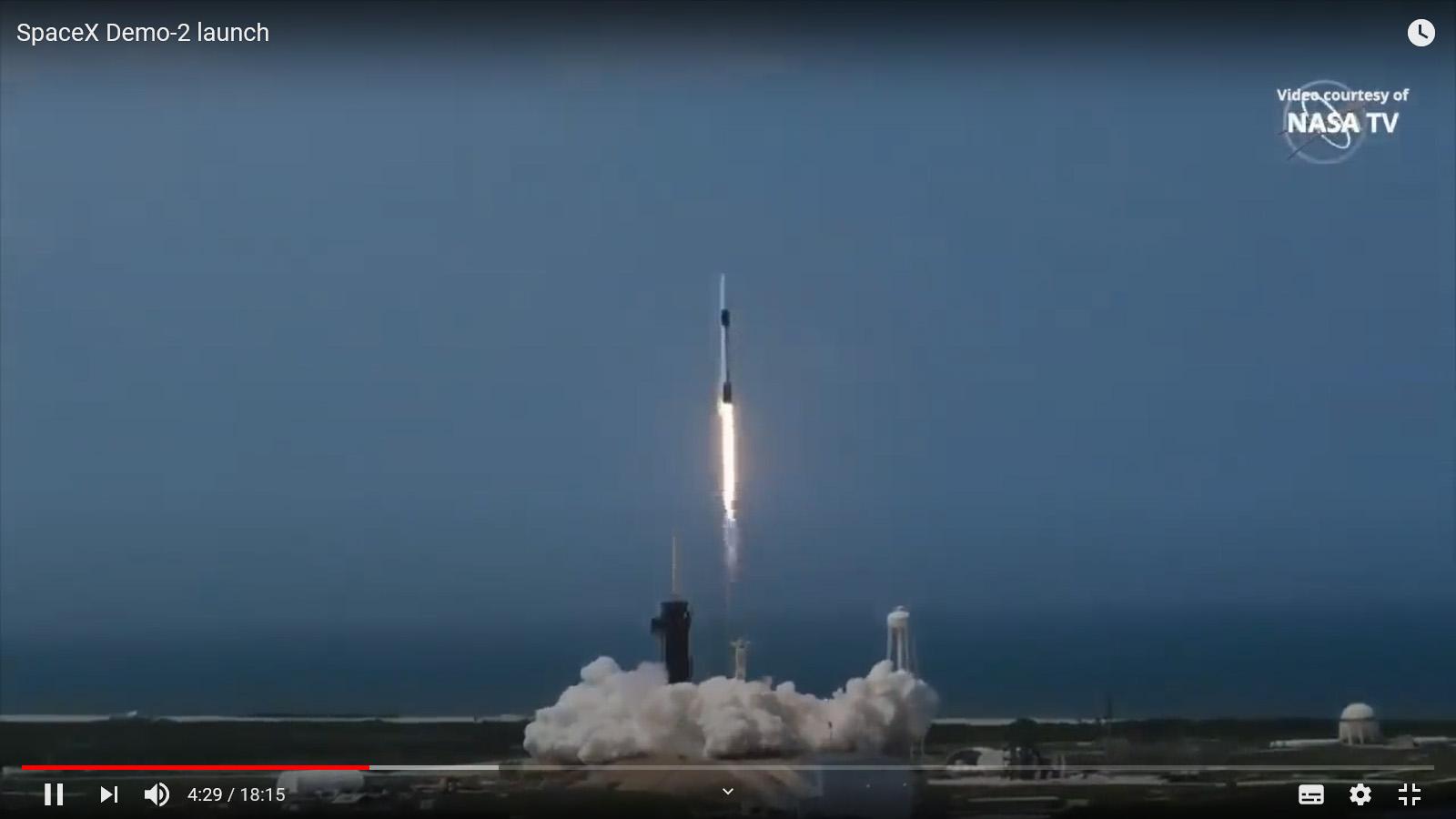 今月のYouTube「スペースX社のスターリンク計画とスターリンクトレイン」