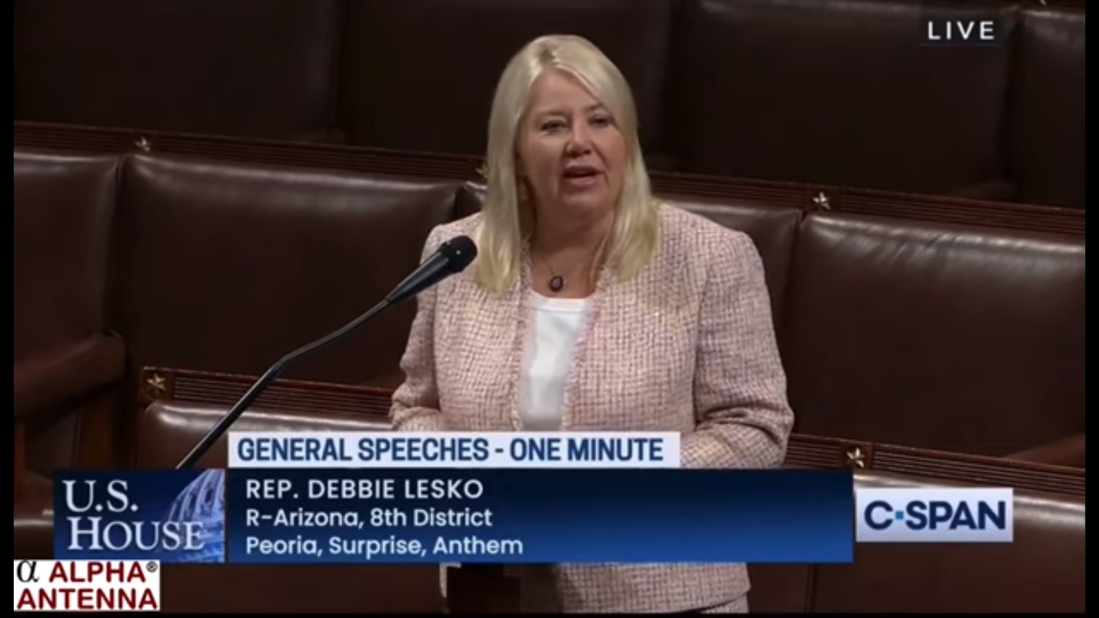 今月のYouTube「米下院の1分間スピーチで,アマチュア無線の社会貢献に言及」