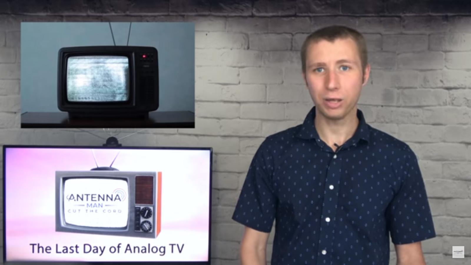 今月のYouTube「米国アナログテレビ放送終了」